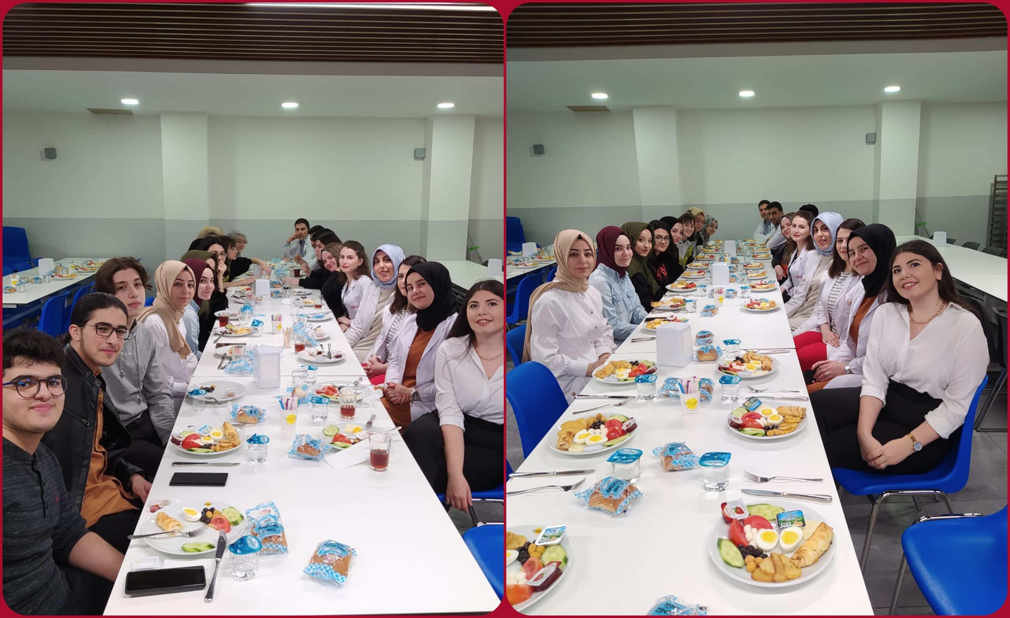 12. Sınıflarımızla Sınava Doğru Moral Kahvaltımızı Keyifle Tamamladık.