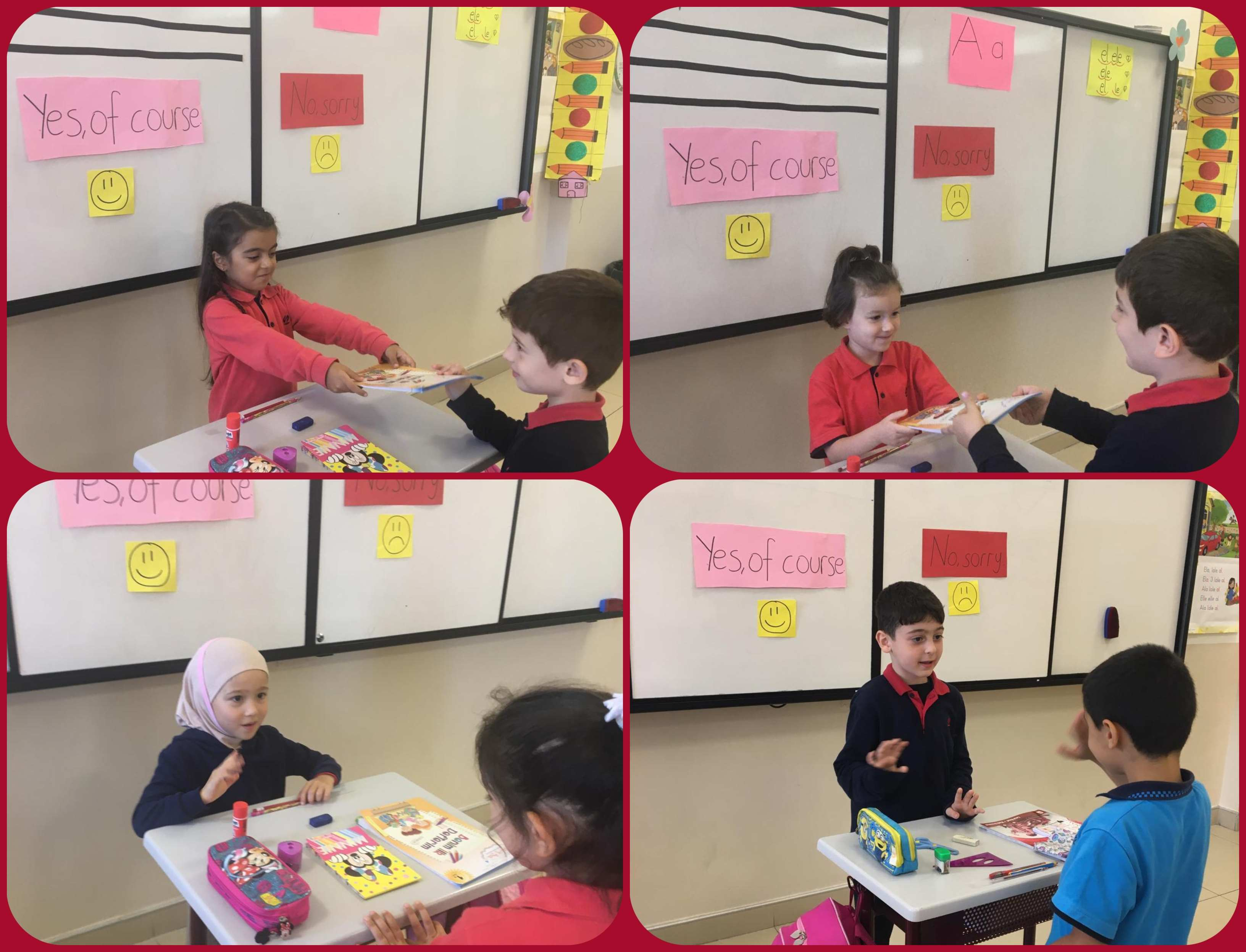 SMALL DIALOGUES WITH 1ST GRADERS