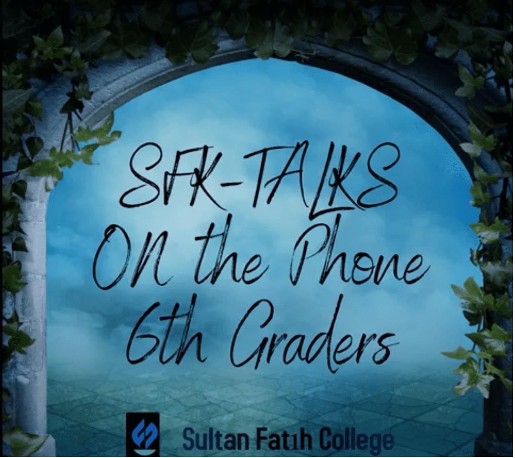Sfk Talks 6th Graders