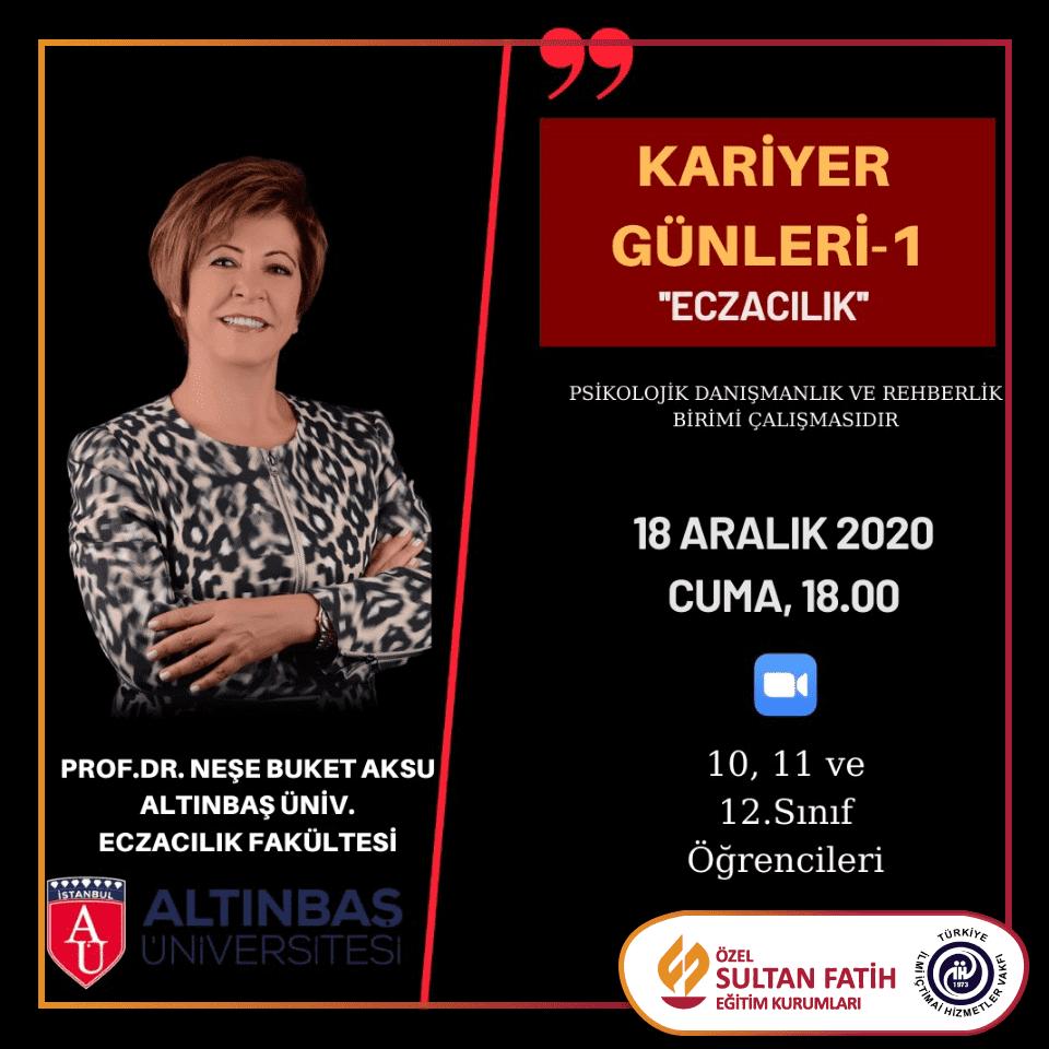 KARİYER GÜNLERİ -1-