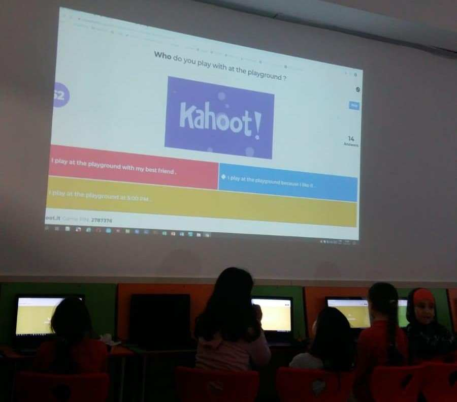 Learn & Compete with KAHOOT