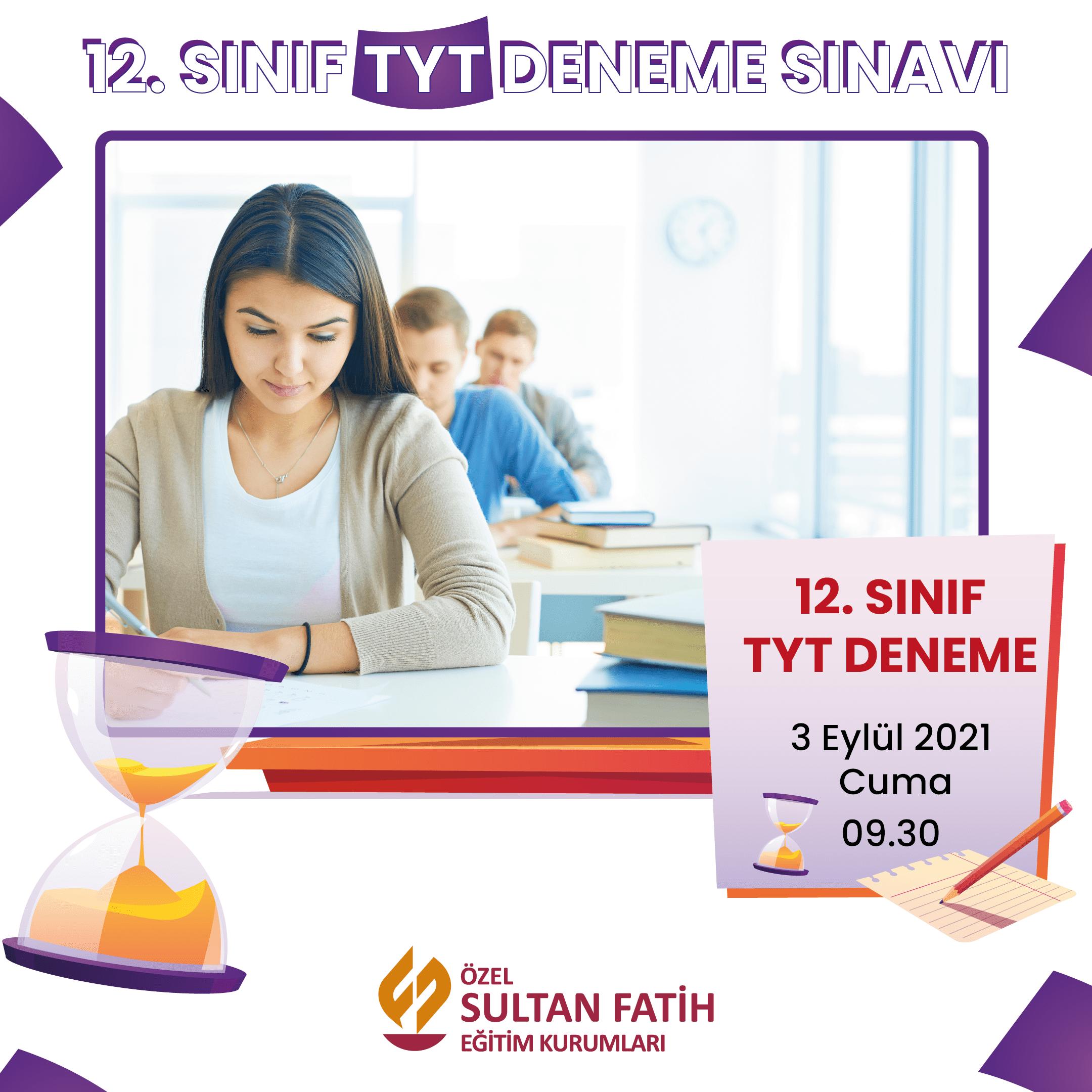 12.Sınıf TYT Deneme Sınavı