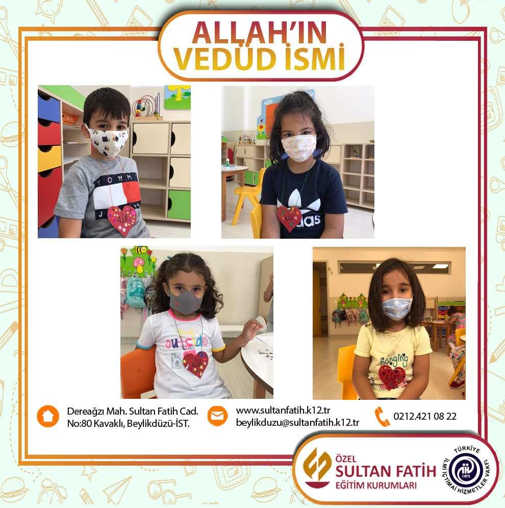 ALLAH'IN VEDÜD İSMİNİ ÖĞRENME ETKİNLİĞİMİZ