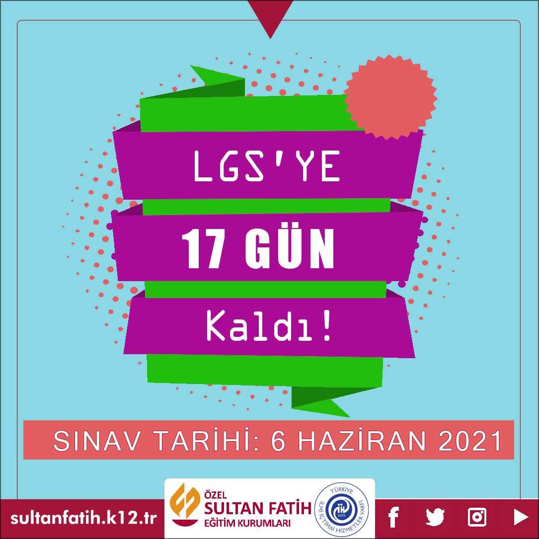 LGS'YE 17 GÜN KALDI