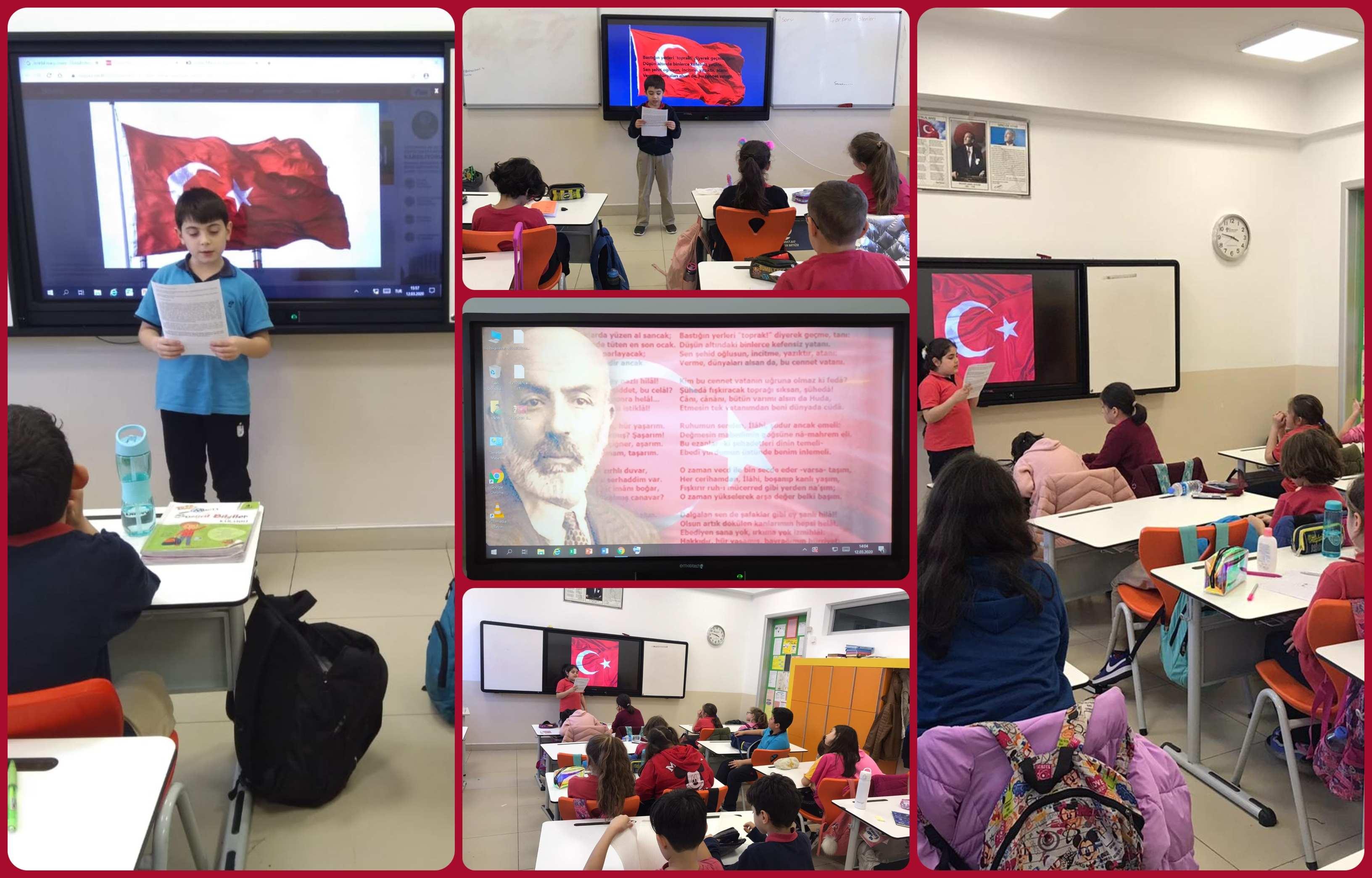İstiklal Marşı'mızın Kabulünün 99. Yılında Milli Şairimiz Mehmet Akif Ersoy'u Saygı Ve Rahmetle Anıyoruz.