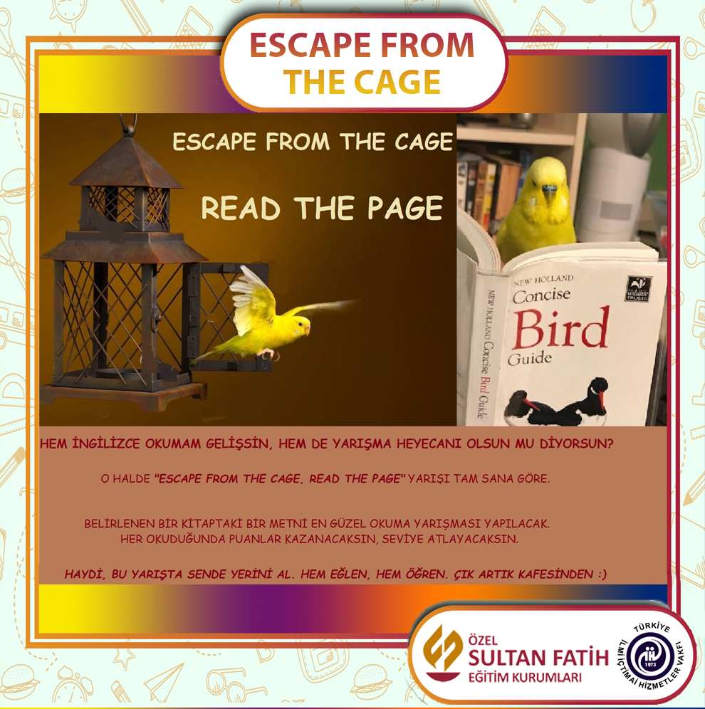 ESCAPE FROM THE CAGE