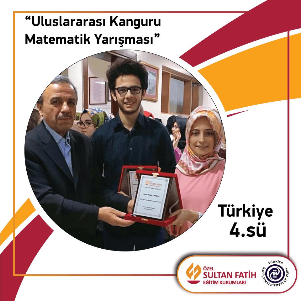 Uluslararası Kanguru Matematik yarışmasında 4. olduk