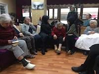 Huzur Evi ve Yaşlı Bakım Merkezini Ziyareti