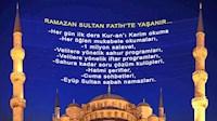 SULTAN FATİH'TE RAMAZAN