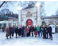 """""""EYÜP SULTAN'DA BİR SABAH NAMAZI"""" ETKİNLİĞİMİZ HUZUR VERDİ"""