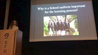 'WHY IS A SCHOOL UNIFORM IMPORTANT FOR THE LEARNING PROCESS ?' PRESENTATION BY ERVA ÜNLÜ
